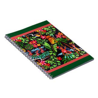 Hawaiian Girls Spiral Notebooks