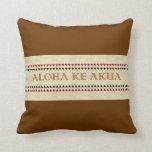 "Hawaiian ""God Is Love"" (Aloha) Pillows"
