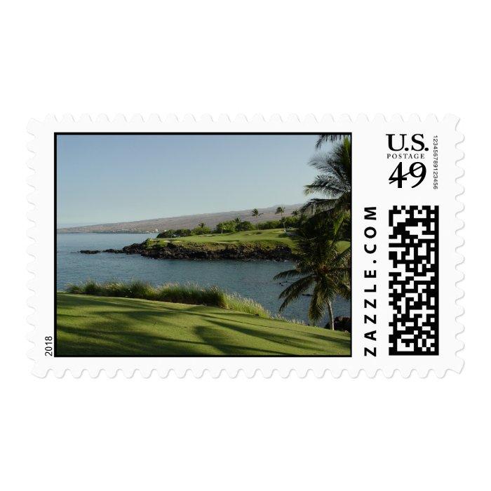 Hawaiian Golf Stamp