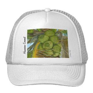 Hawaiian Green Coconut Hat