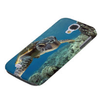 Hawaiian Green Sea Turtle Galaxy S4 Case