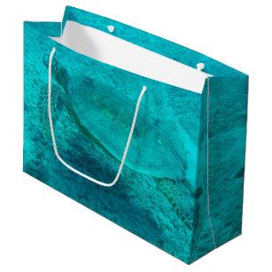 Hawaiian Green Sea Turtle Large Gift Bag
