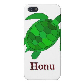Hawaiian Green Sea Turtle on White Case For iPhone SE/5/5s