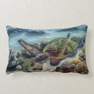 Hawaiian Green Sea Turtle Pillow