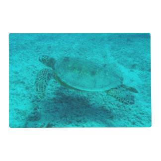 Hawaiian Green Sea Turtle Placemat
