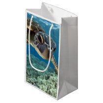 Hawaiian Green Sea Turtle Small Gift Bag