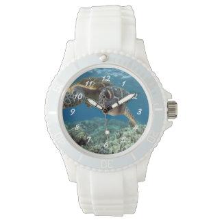 Hawaiian Green Sea Turtle Wrist Watch