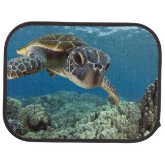 Hawaiian Green Sea Turtle Floor Mat
