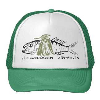 Hawaiian Grinds Trucker Hat