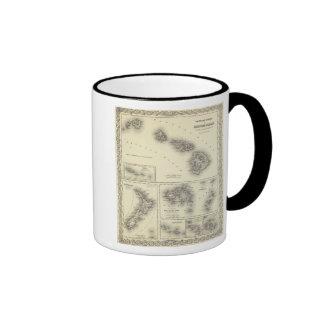 Hawaiian Group Or Sandwich Islands Ringer Mug