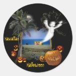 Hawaiian Halloween Sticker