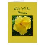 Hawaiian Happy Birthday -- Hau`oli La Hanau Greeting Card