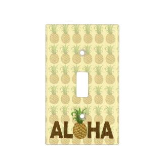 Hawaiian Hawaii de la piña del vintage de la Cubiertas Para Interruptor