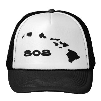 Hawaiian Hawaiian Islands 808 Mesh Hat