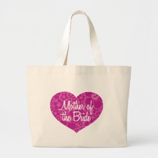 Hawaiian Heart Mother of the Bride Large Tote Bag