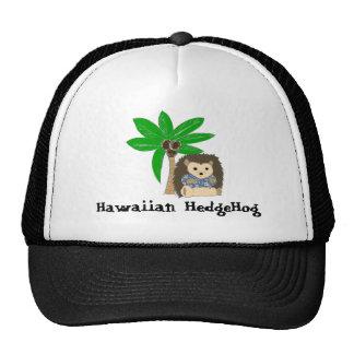 Hawaiian HedgeHog and Palm Tree Hats