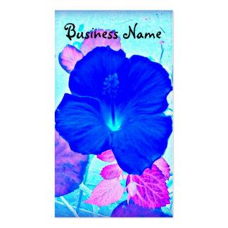 Hawaiian Hibiscus art business card