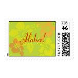 Hawaiian Hibiscus Customizable Stamp