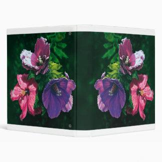 Hawaiian Hibiscus document binder