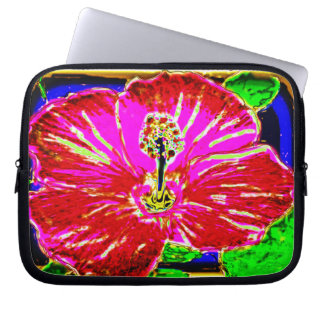 Hawaiian Hibiscus Electronics Bag