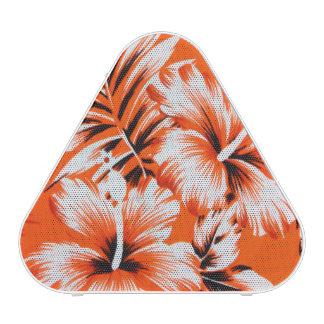 Hawaiian Hibiscus Flower Background Bluetooth Speaker