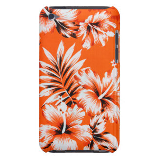 Hawaiian Hibiscus Flower Background iPod Case-Mate Case