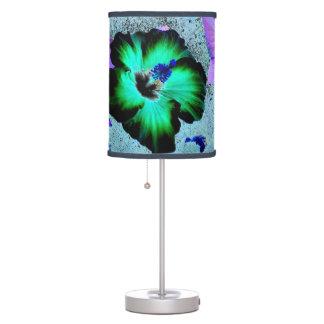 Hawaiian Hibiscus Flower Desk Lamp