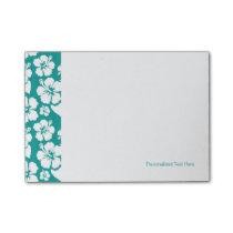 Hawaiian Hibiscus Flower Pattern Post-it Notes