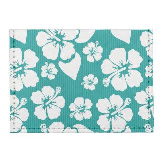 Hawaiian Hibiscus Flower Pattern Tyvek® Card Wallet