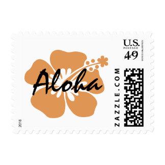 Hawaiian Hibiscus Flower Stamp