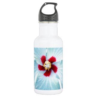 Hawaiian Hibiscus Flower Water Bottle
