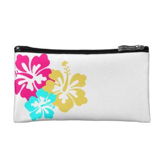 Hawaiian Hibiscus Flowers Makeup Bag