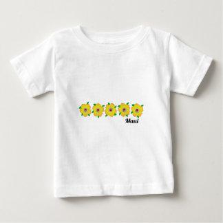 Hawaiian Hibiscus Flowers Maui Hawaii Baby T-Shirt