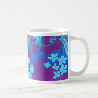Hawaiian Hibiscus Kona Blend purple mug