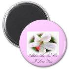 Hawaiian Hibiscus Magnet