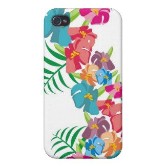 Hawaiian Hibiscus Paradise iPhone 4 Cover