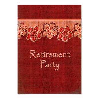 Hawaiian Hibiscus Retirement Card