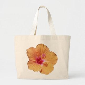 Hawaiian Hibiscus Tote Bag Jumbo Tote Bag
