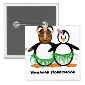 Hawaiian Honeymoon Pinback Buttons