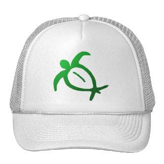 Hawaiian Honu Petroglyph - Hat