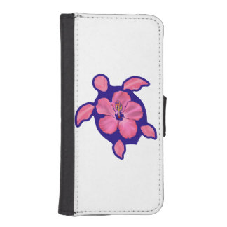 Hawaiian Honu Turtle and Hibiscus iPhone SE/5/5s Wallet