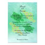 Hawaiian Honu Wedding Card