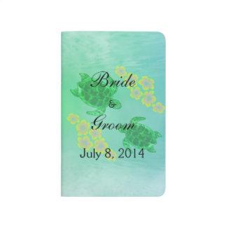 Hawaiian Honu Wedding Guest Book Journals