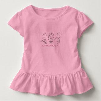 Hawaiian Hula Girls Mahalo to Paradise Toddler T-shirt