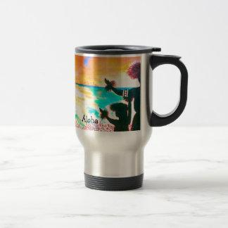 Hawaiian Hula Travel Mug