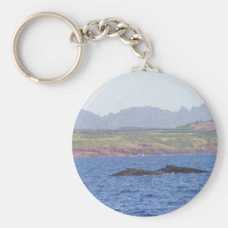 Hawaiian Humpback Whales Key Chain