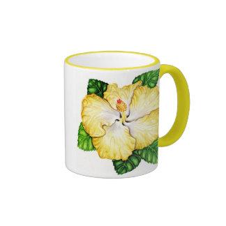 Hawaiian Hybrid Hibiscus Ringer Mug