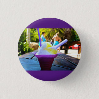 Hawaiian ice Button pin