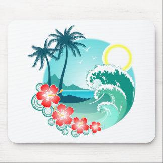 Hawaiian Island 2 Mouse Pad
