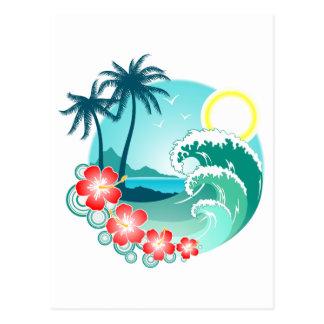 Hawaiian Island 2 Postcard